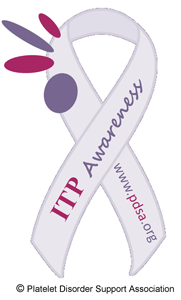 ITP Awareness ribbon
